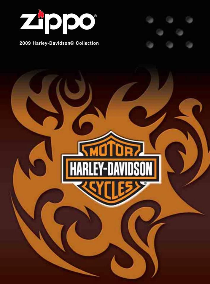 Zippo 2009 Harley Davidson Collection US