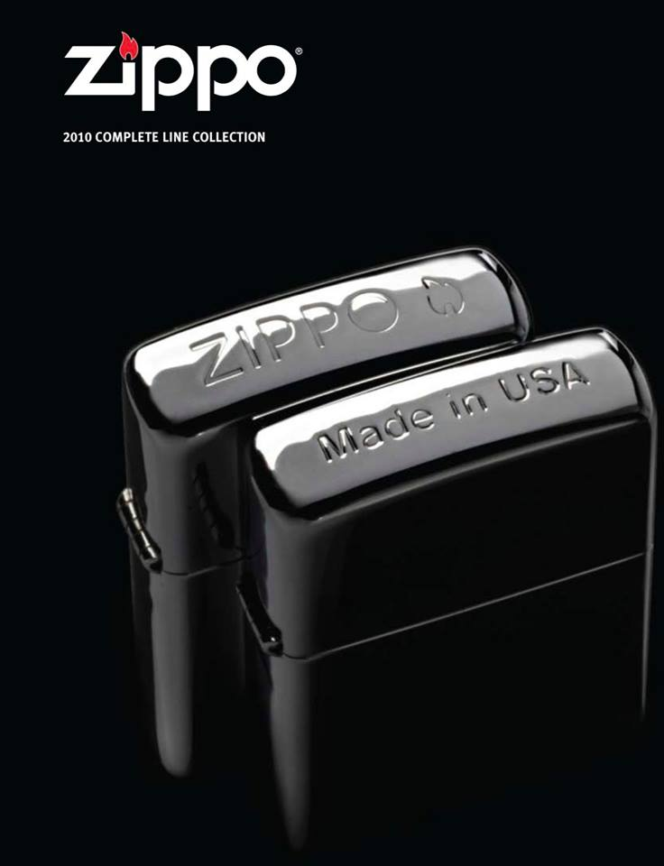 Zippo 2010 Complete Line Collection US