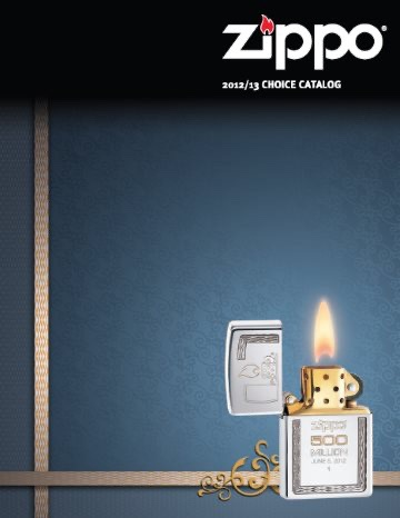 Zippo 2012-2013 Choice Collection US
