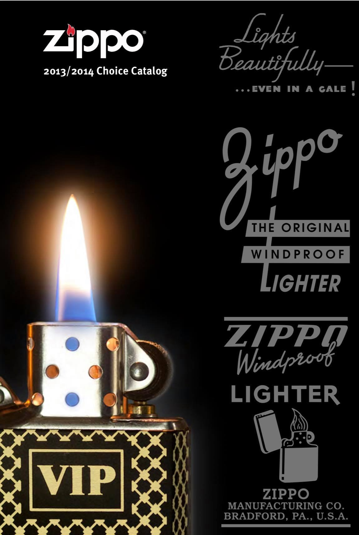 Zippo 2013 - 2014 Choice Collection US