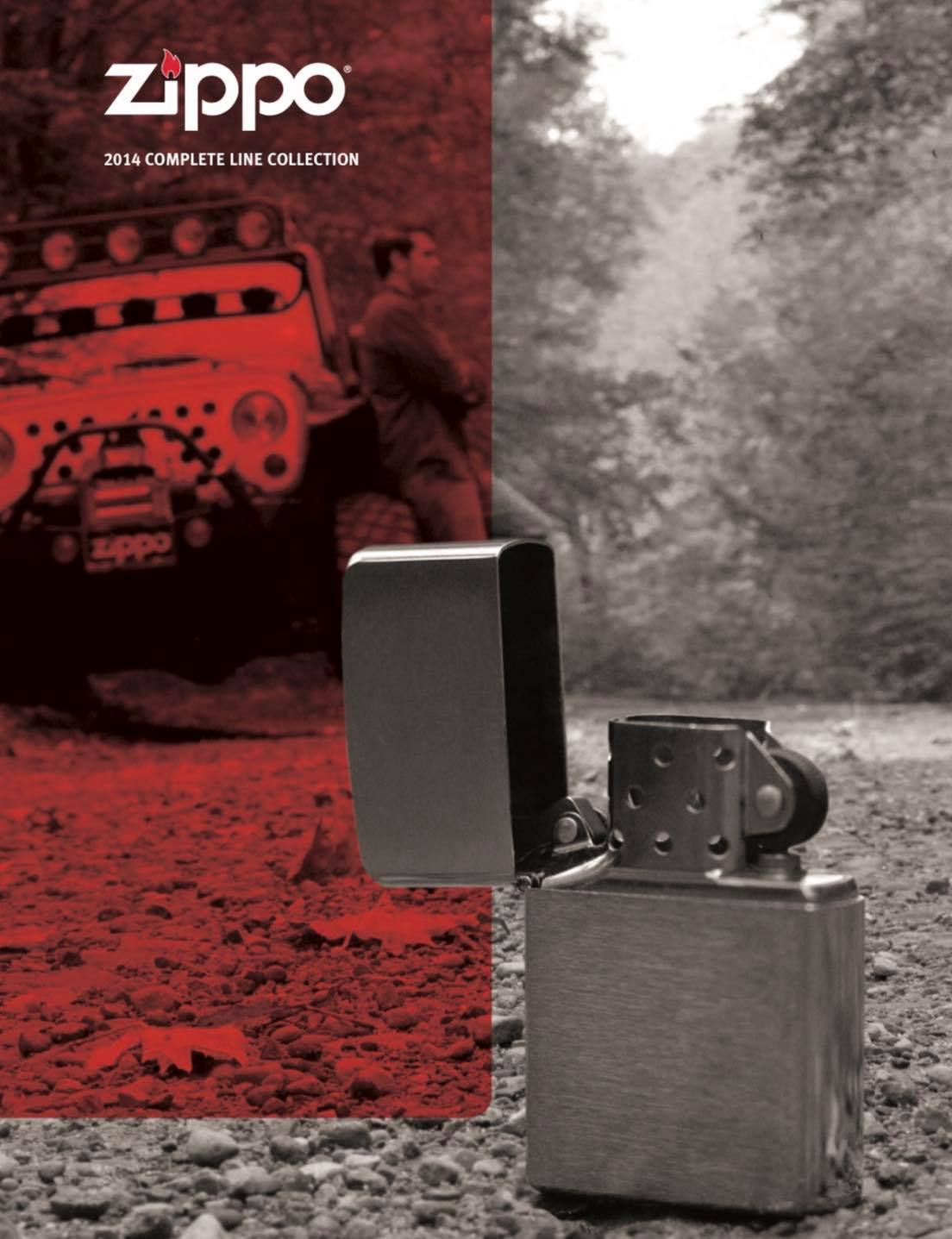 Zippo 2014 Complete Line Collection US