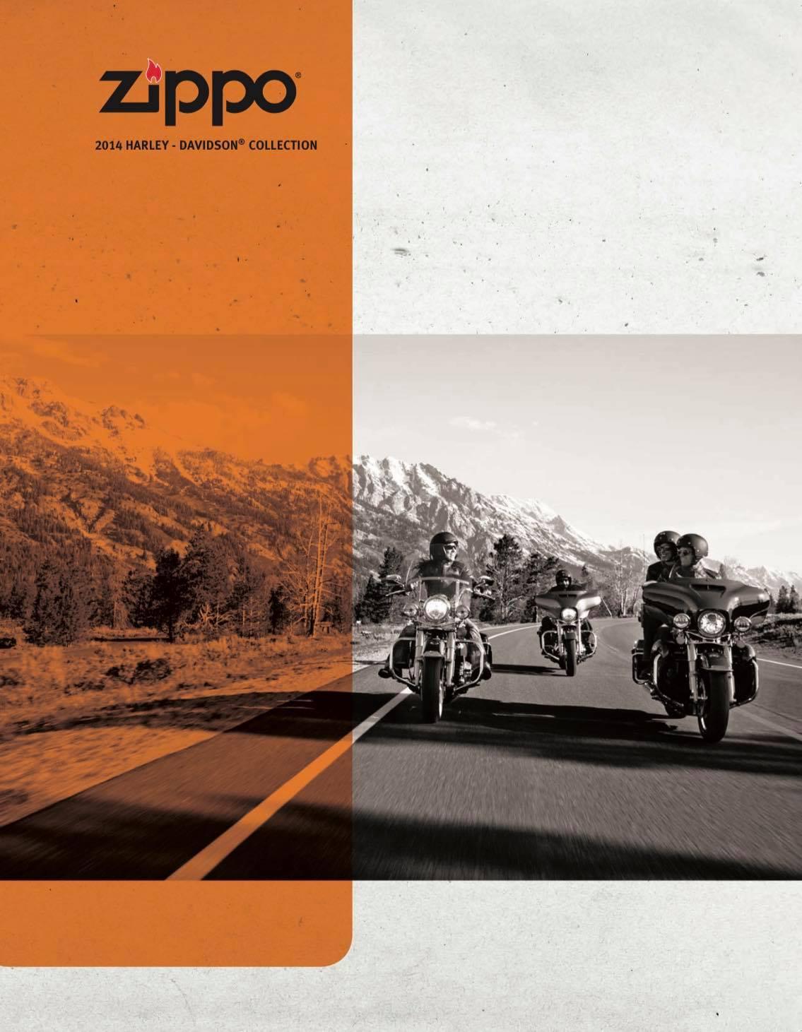 Zippo 2014 Harley Davidson Collection US