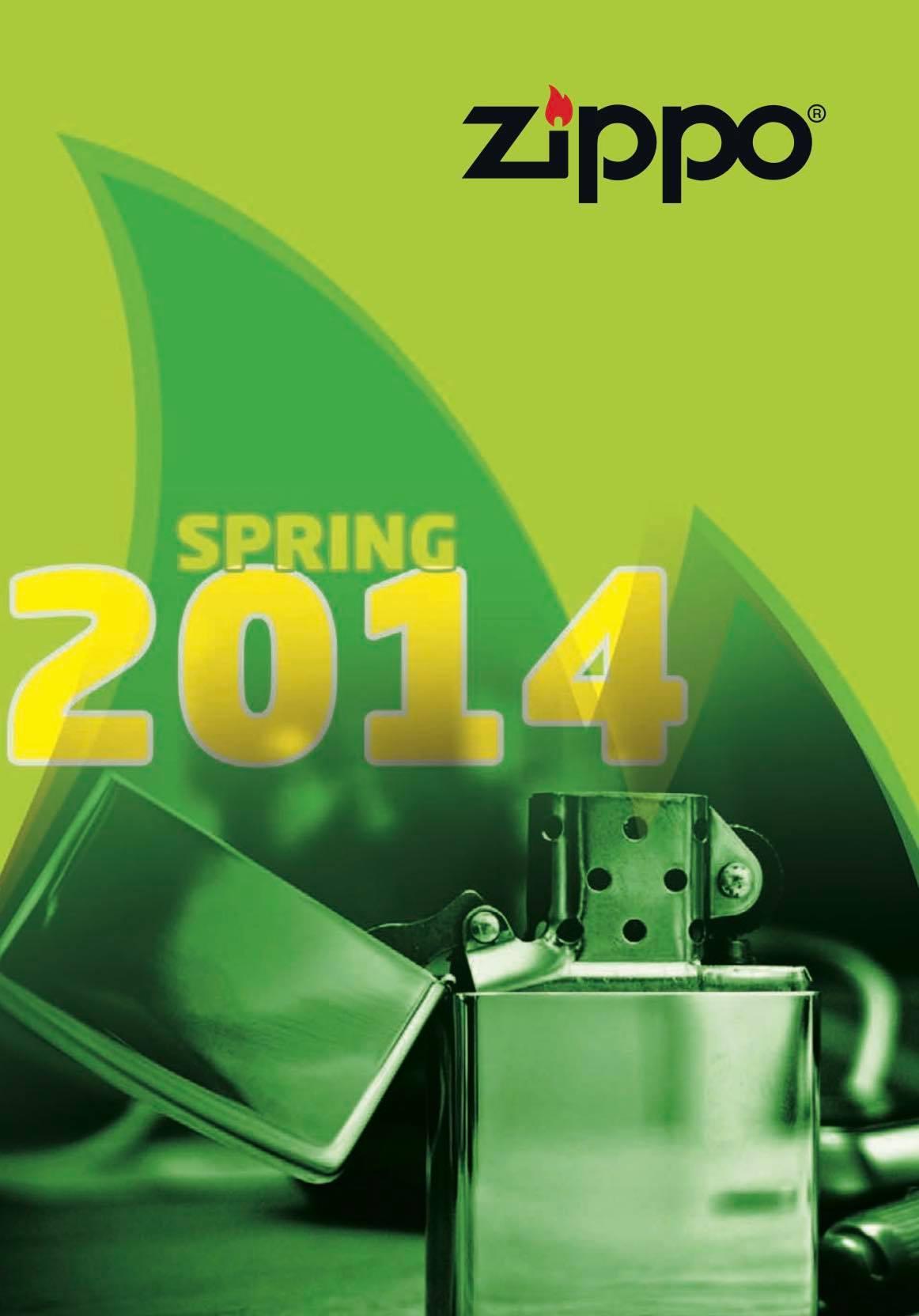 Zippo 2014 Spring Collection DE