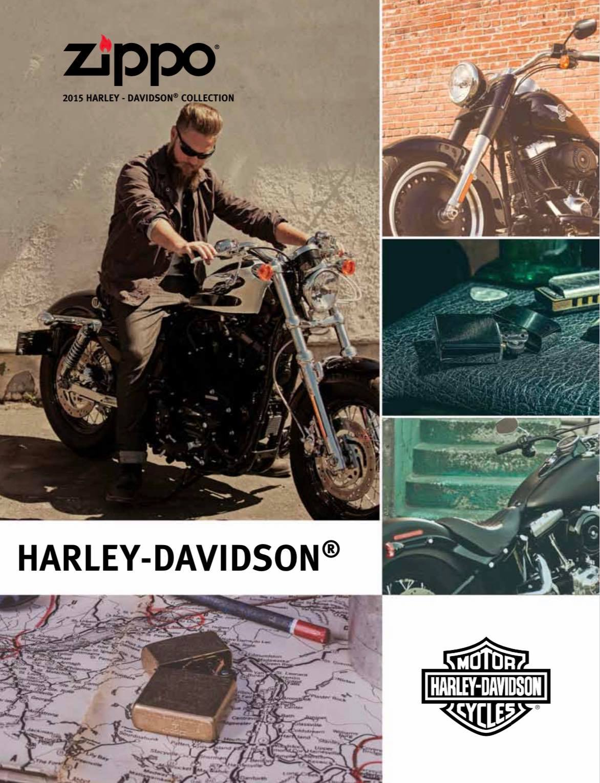 Zippo 2015 Harley Davidson Collection US