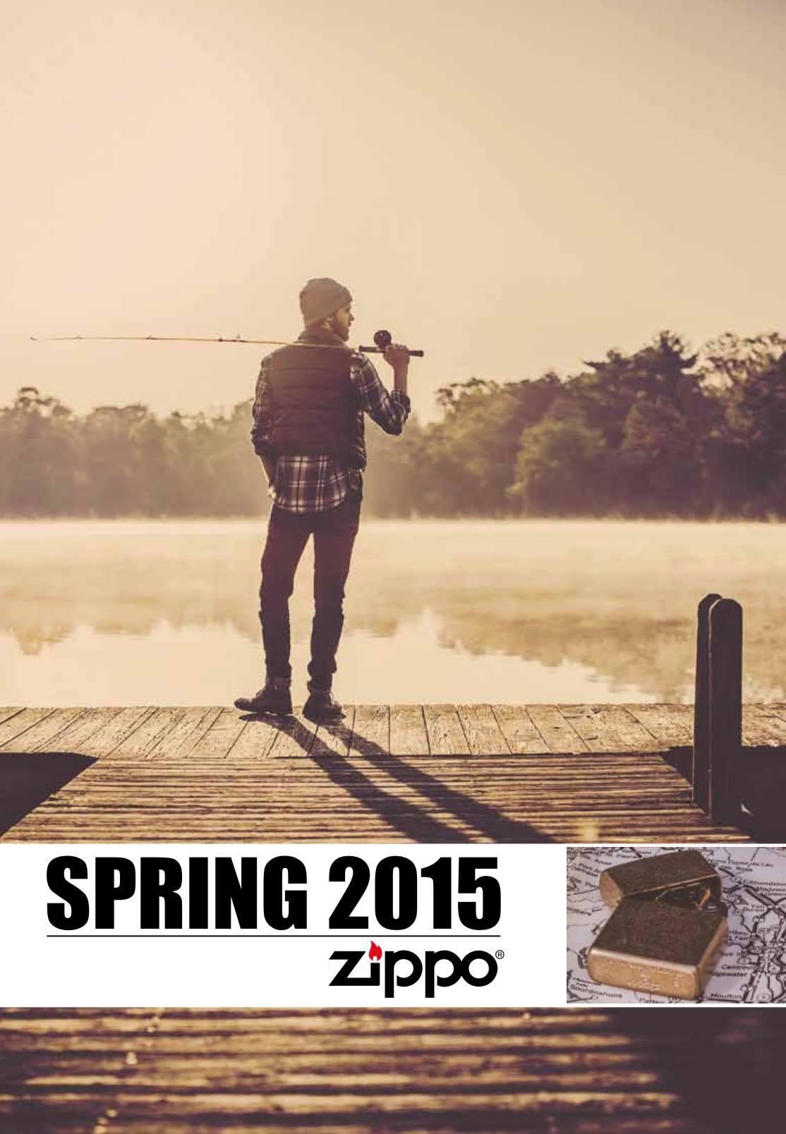 Zippo 2015 Spring Collection DE
