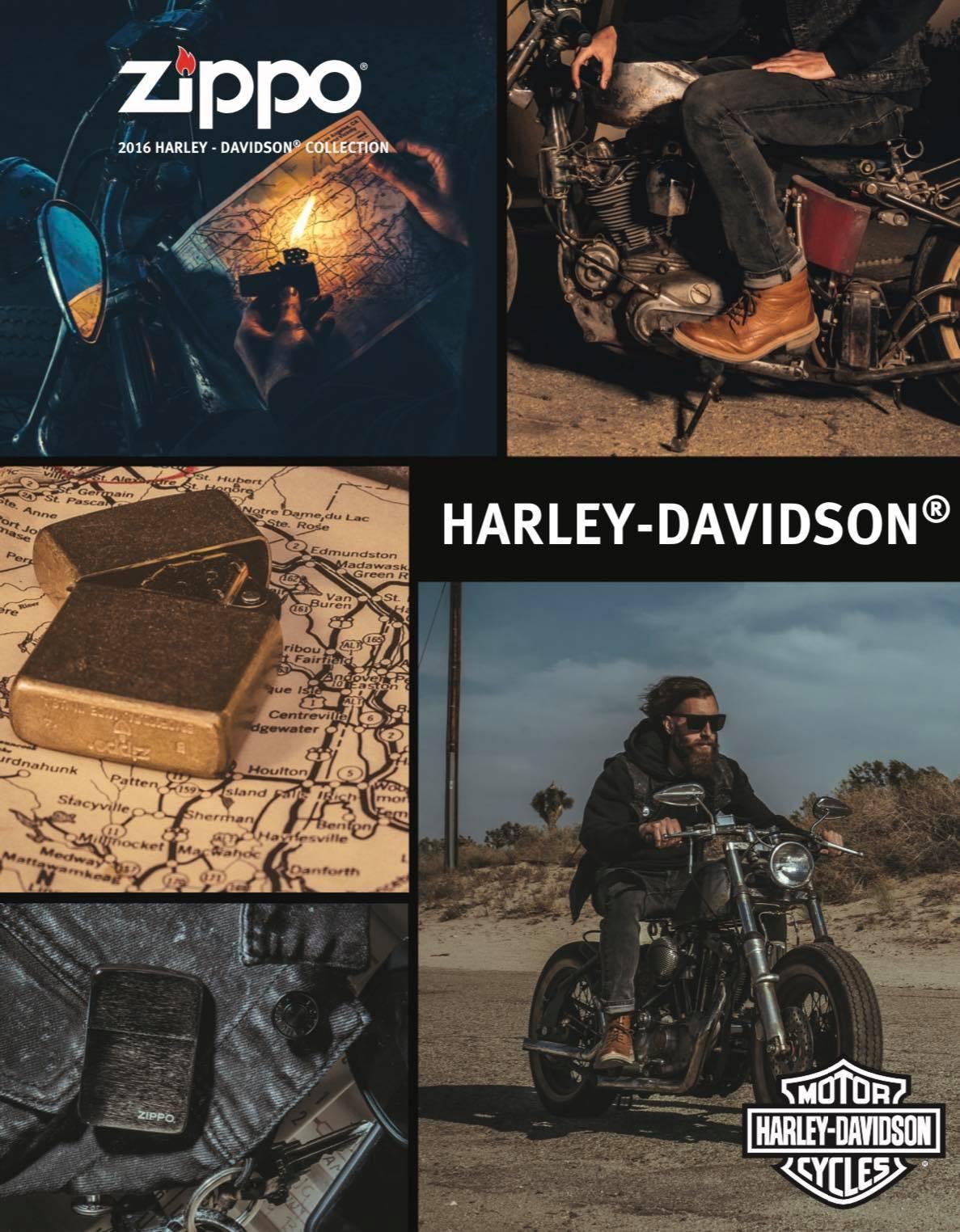 Zippo 2016 Harley Davidson Collection US