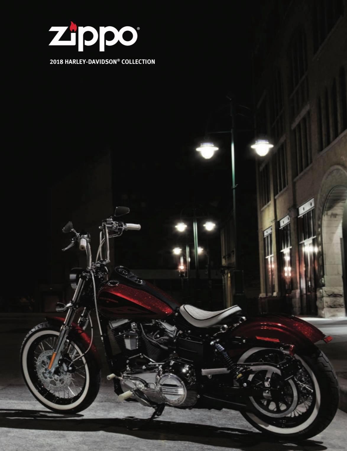 Zippo 2018 Harley Davidson Collection US