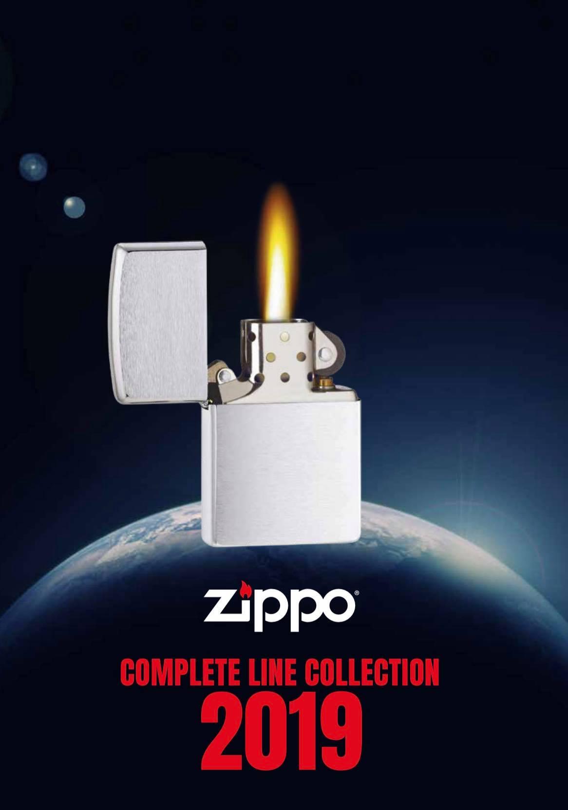 Zippo 2019 Complete Line Collection DE