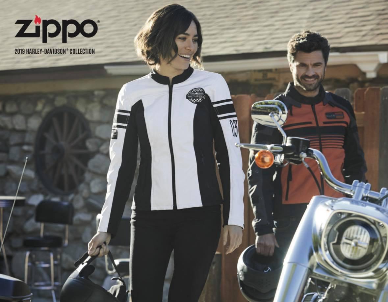 Zippo 2019 Harley Davidson Collection US