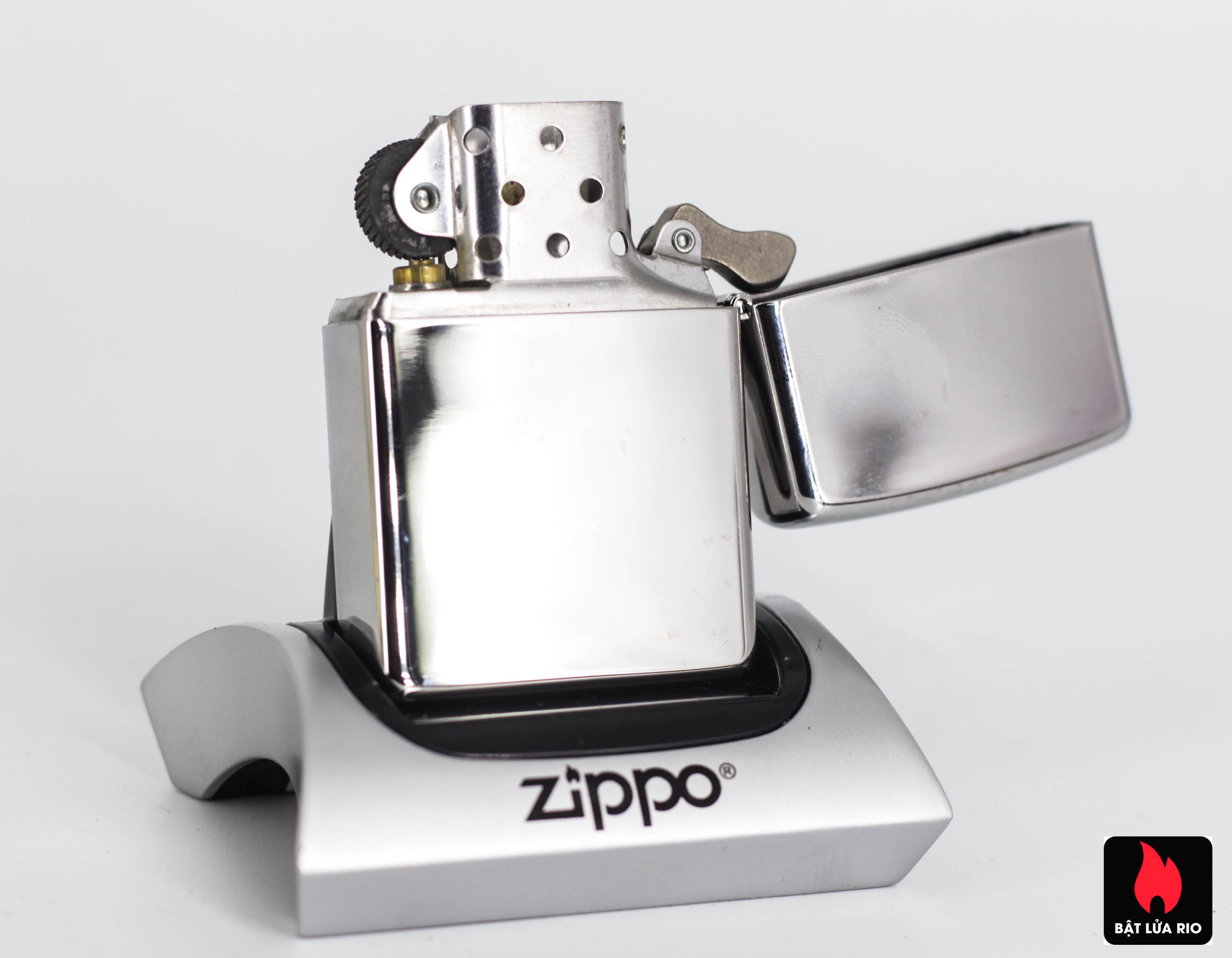 Zippo 2008 - Zippo Jim Beam Emblem High Polish Chrome 4