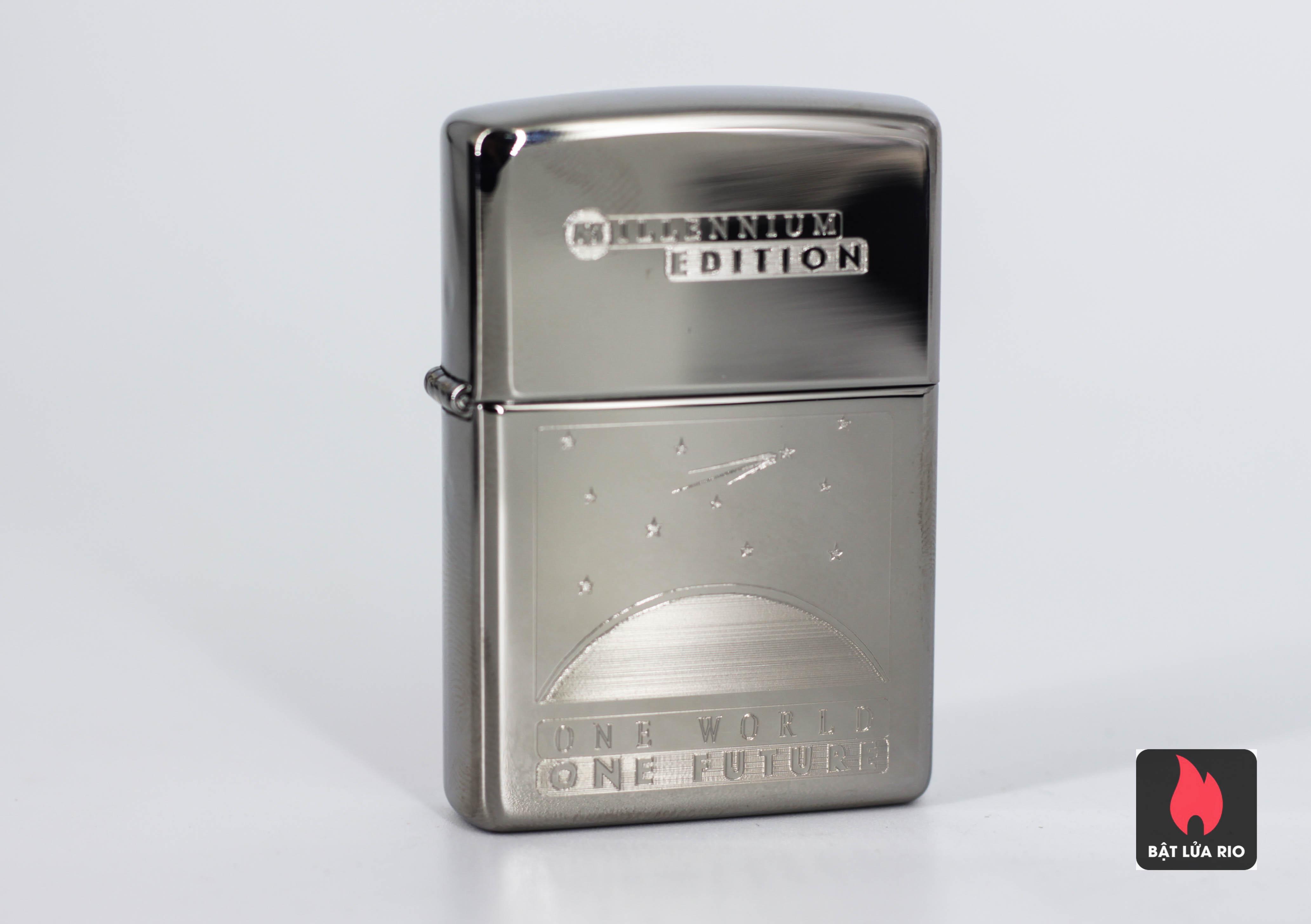 Zippo Coty 1999 - One World - One Future - Titan Coated 3