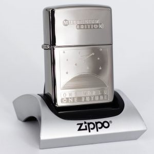 Zippo Coty 1999 - One World - One Future - Titan Coated