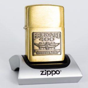 Zippo La Mã 1994 - Brickyard 400 - Brushed Brass