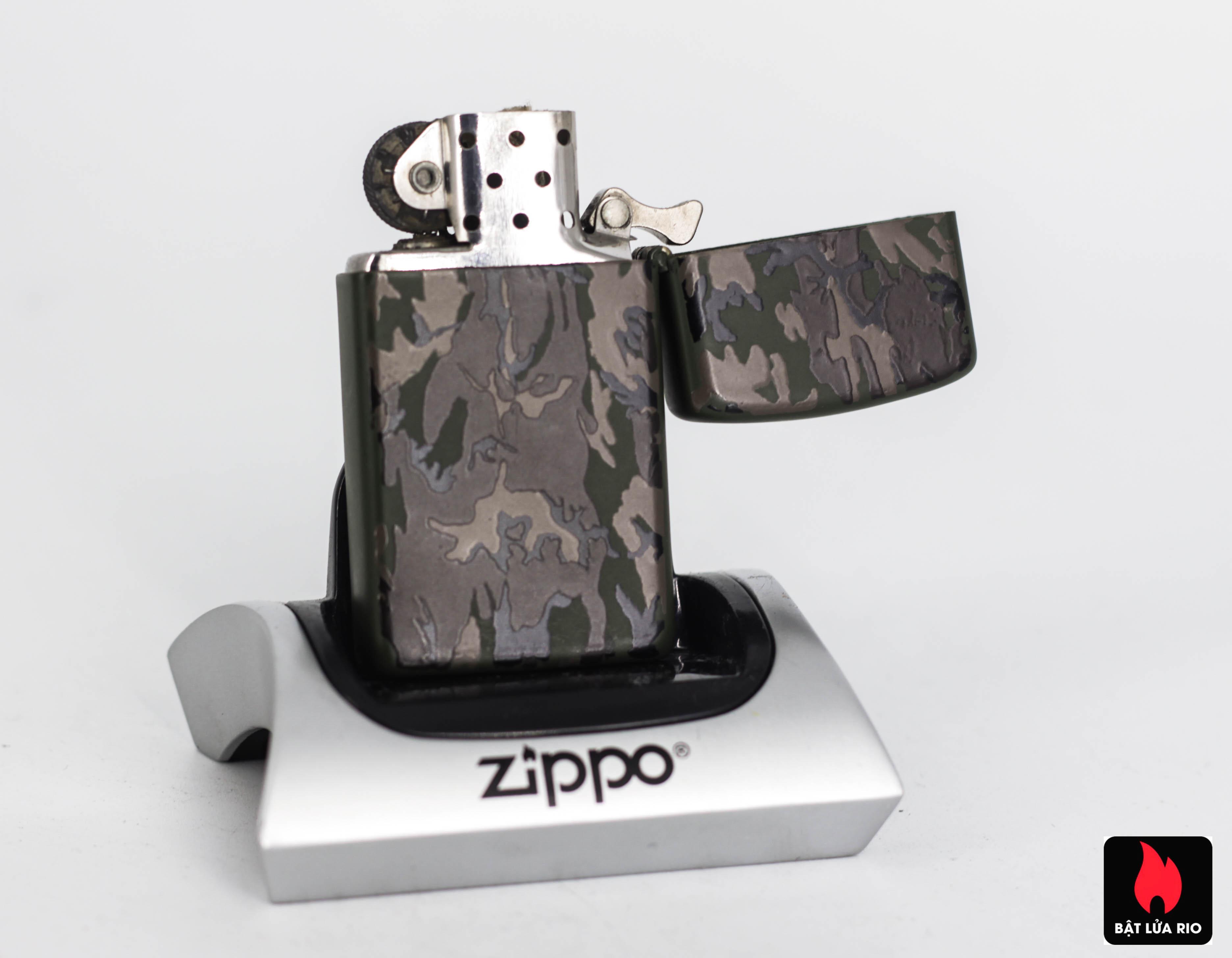 Zippo Slim 1992 - Camo - Uss Theodore Roosevelt CVN 71 3