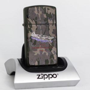 Zippo Slim 1992 - Camo - Uss Theodore Roosevelt CVN 71
