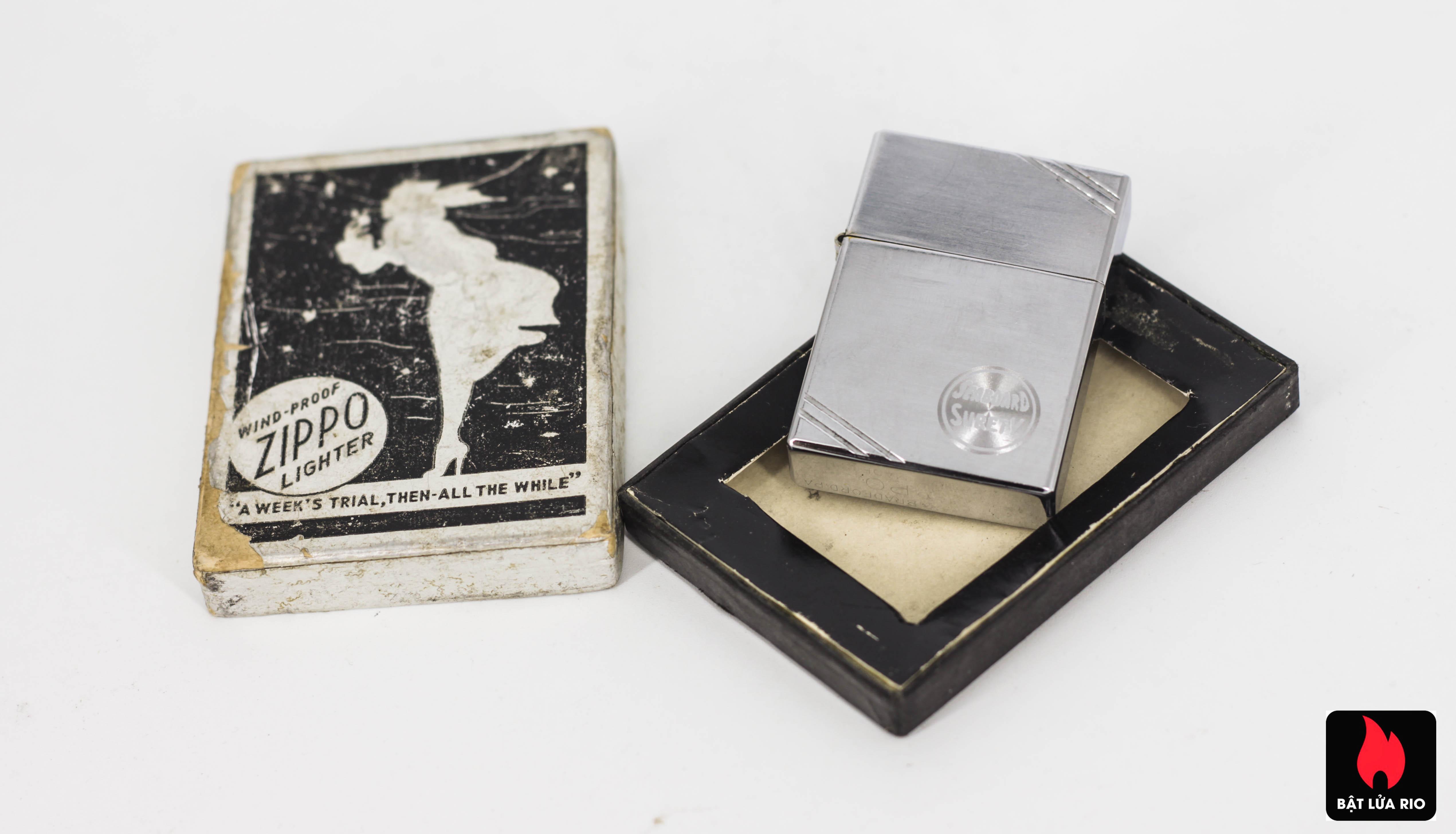 Zippo Xưa 1936 - Seabosrd Surety 17