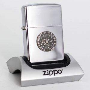 Zippo Xưa 1963 - Vice President Of The United States - Lyndon B. JohnSon