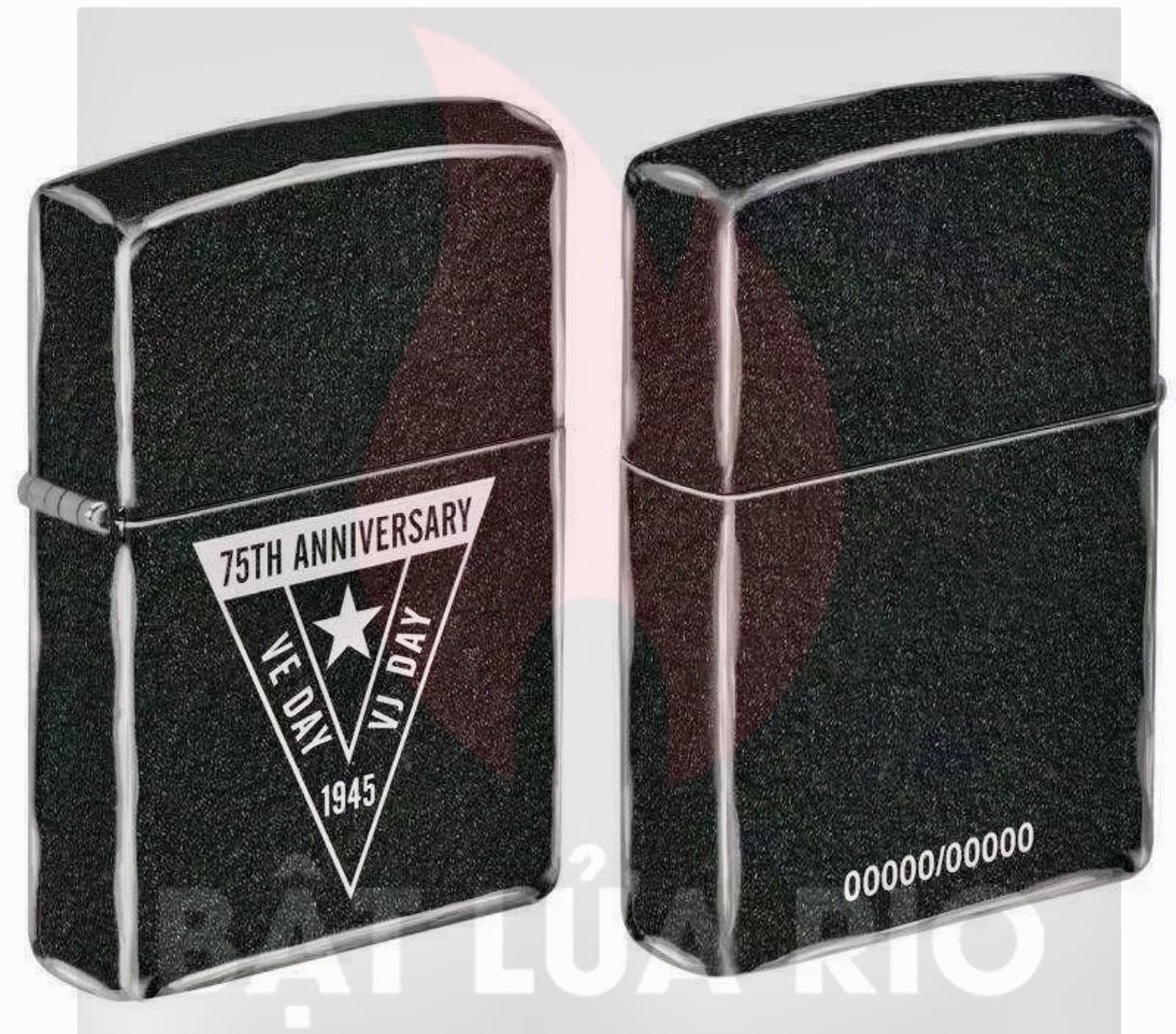 Bộ Sưu Tập Zippo phiên bản giới hạn kỷ niệm 75 năm chiến thắng tại Châu Âu và Nhật Bản, kết thúc WWII 4