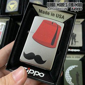 Zippo 205 Mustache