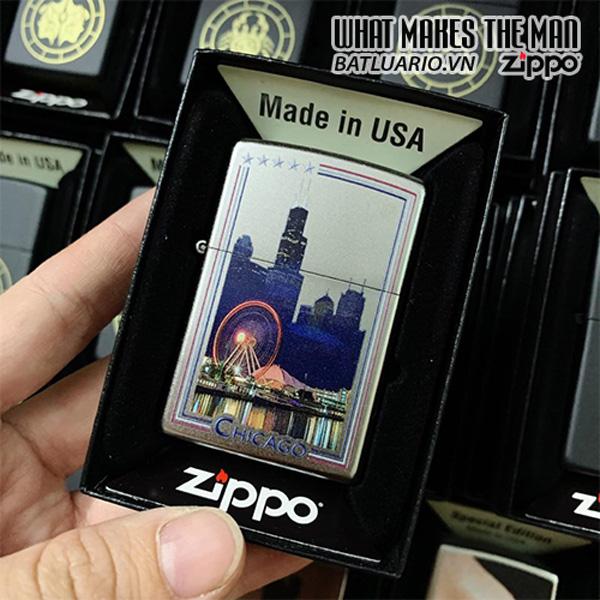 Zippo 205 US City Chicago