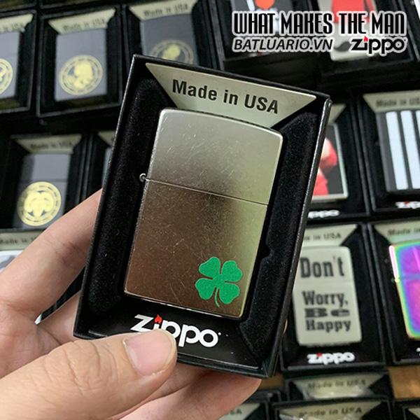 Zippo 207 Lucky Clover