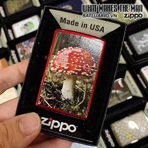 Zippo 21063 Red Mushroom