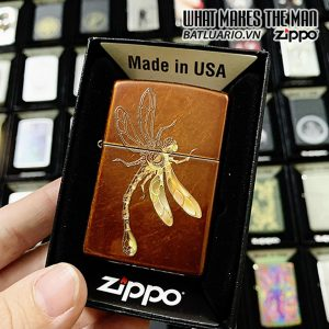 Zippo 21184 Polygon Dragonfly Design