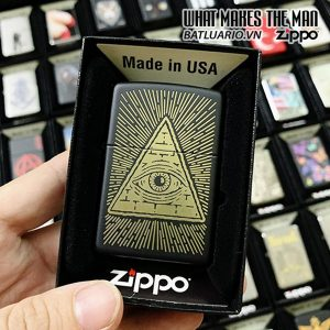 Zippo 218 Eye Of Providence Design