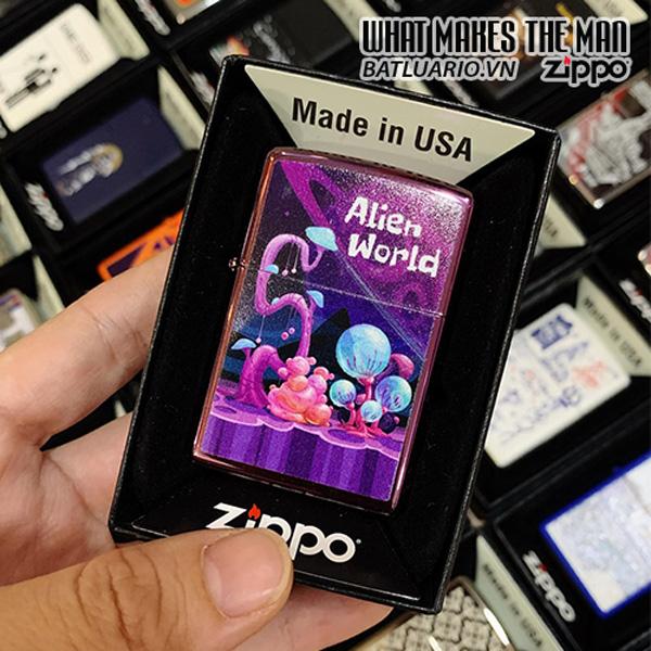 Zippo 24747 Alien World Design