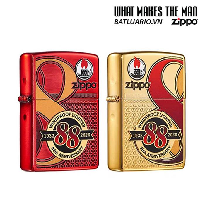 Zippo Edition Box Set 88Th Anniversary Asia Limited - Zippo Phiên Bản Giới Hạn Kỷ Niệm 88 Năm Ra Đời Bật Lửa Zippo - Zippo ZA-2-147C 10