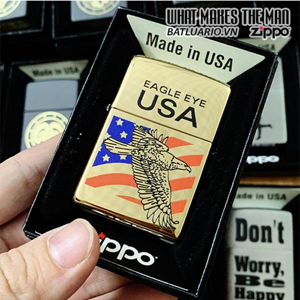 Zippo 254B Big Eagle Eye Brass