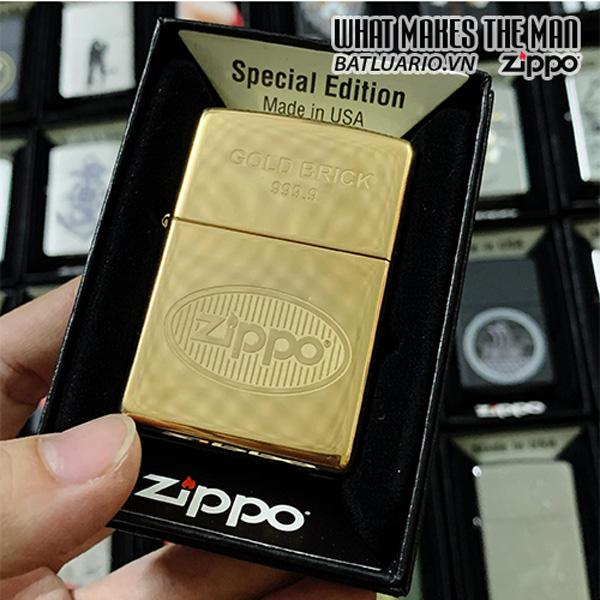 Zippo 254B Gold Brick