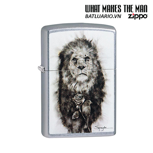 Zippo 49088 - Zippo Spazuk Lion and Rose Design