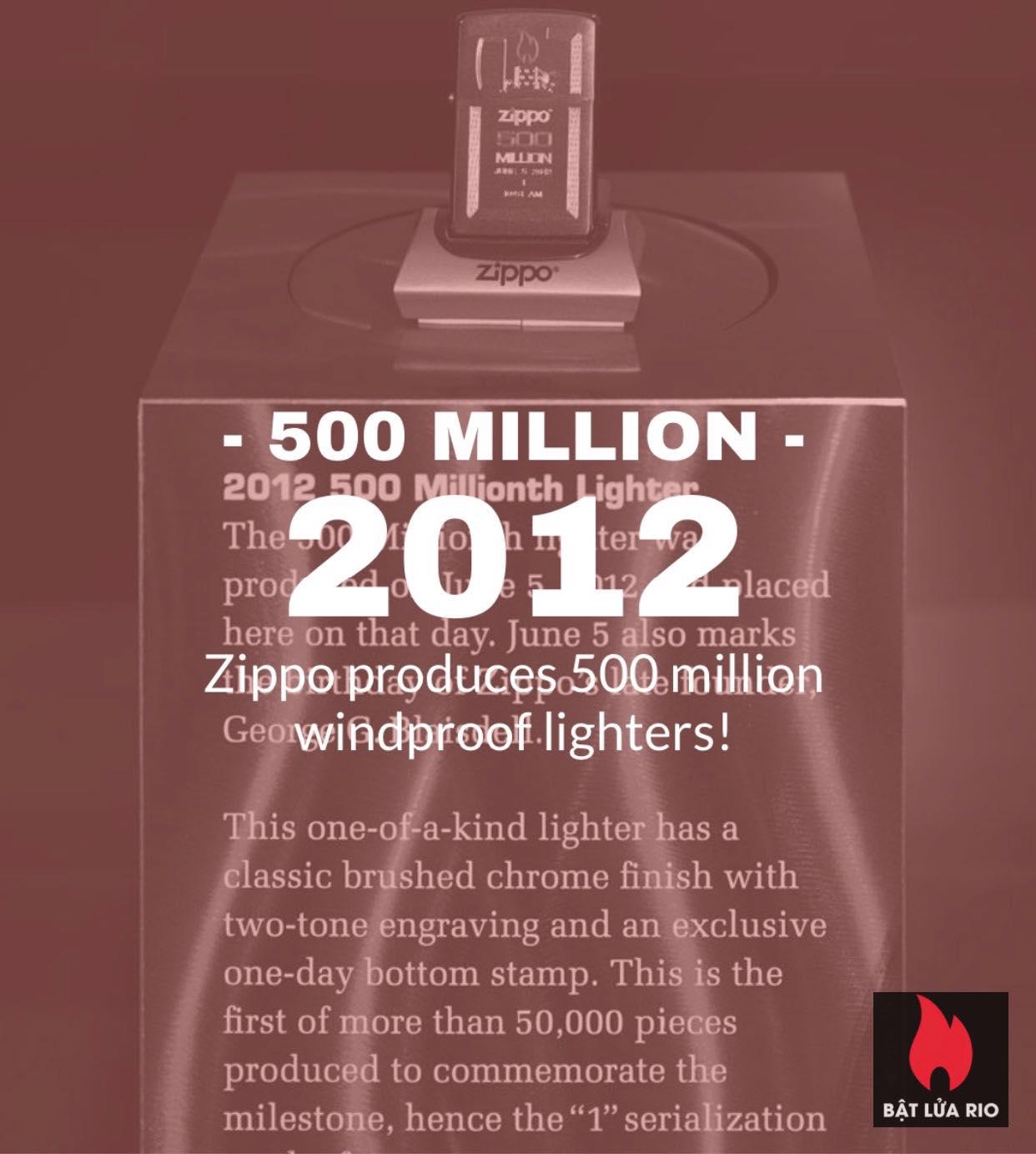 Chiếc bật lửa Zippo thứ 600 triệu trong lịch sử 16