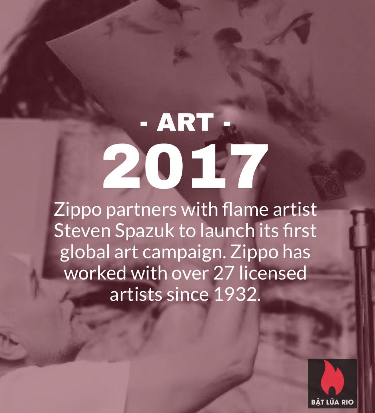 Chiếc bật lửa Zippo thứ 600 triệu trong lịch sử 18