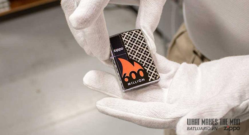 Chiếc bật lửa Zippo thứ 600 triệu trong lịch sử