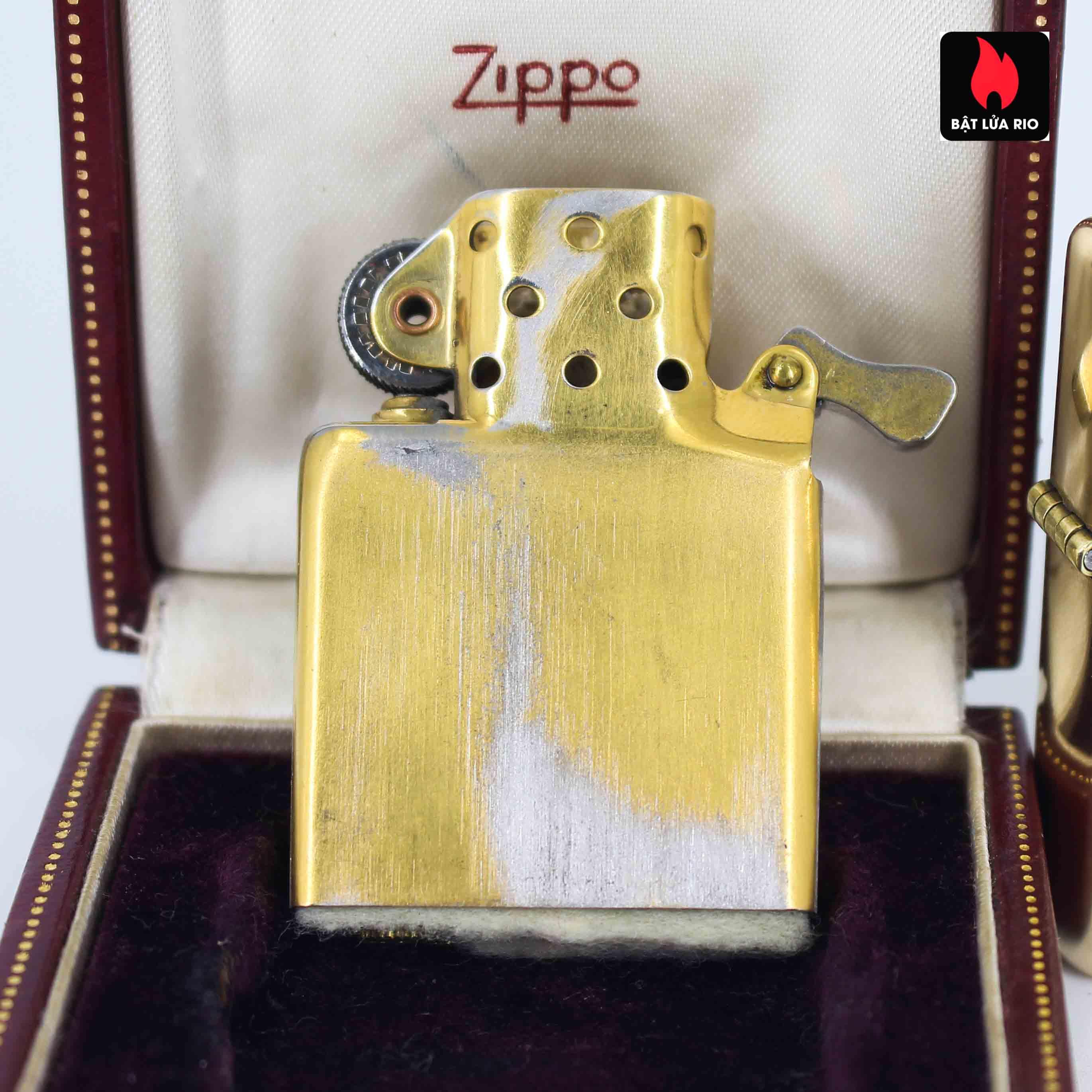 Hiếm - Zippo 1950s - Solid Gold 14k - Vàng Nguyên Khối 14k 10