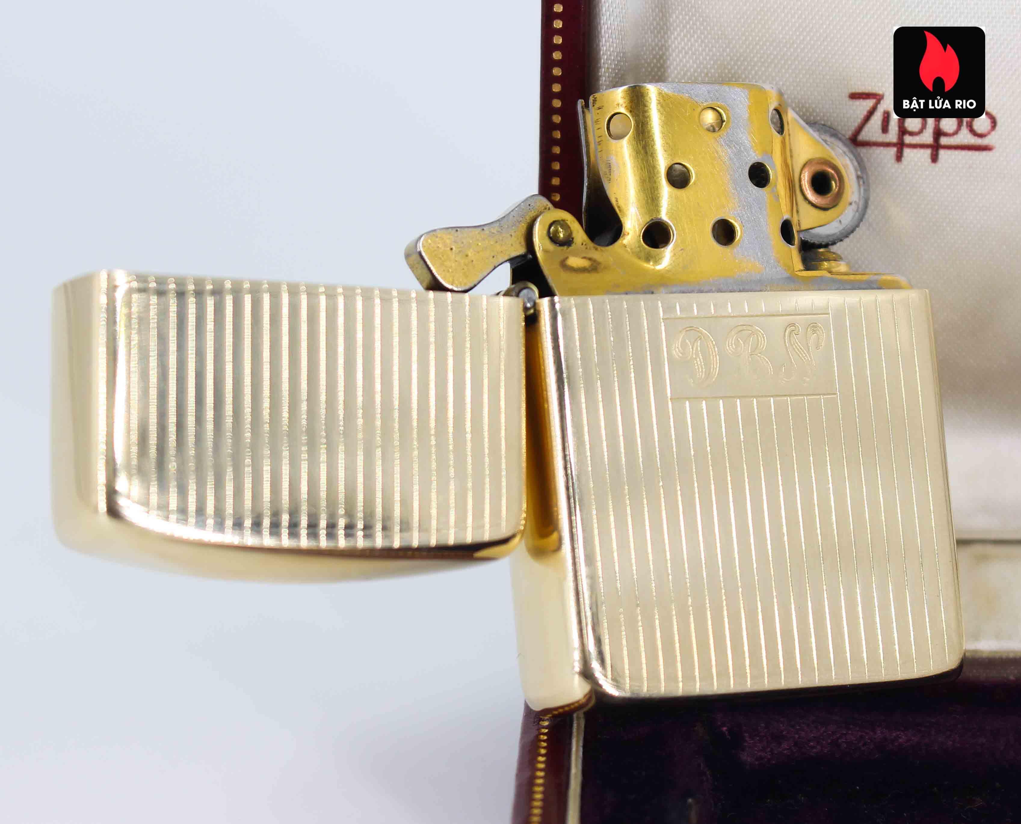 Hiếm - Zippo 1950s - Solid Gold 14k - Vàng Nguyên Khối 14k 11