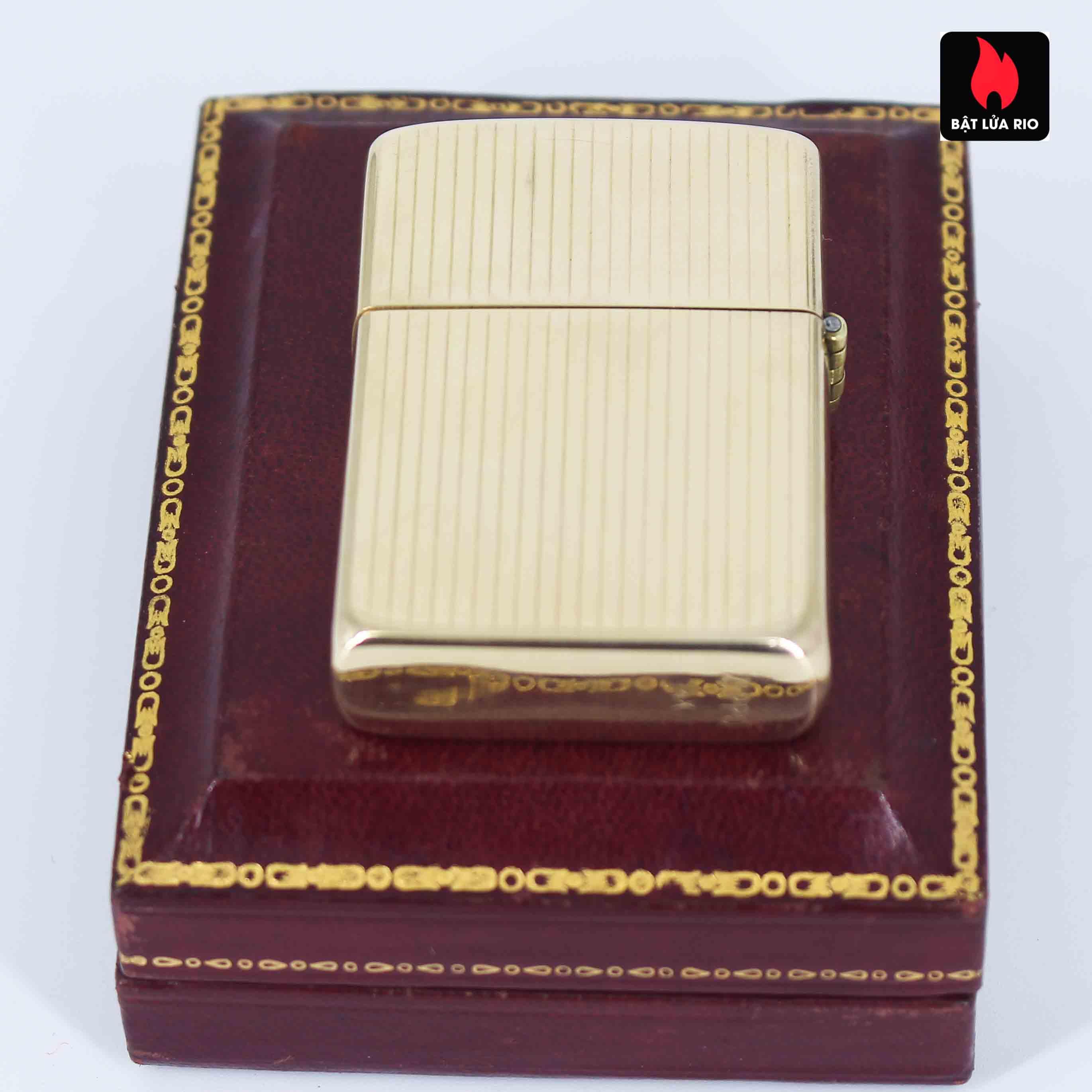 Hiếm - Zippo 1950s - Solid Gold 14k - Vàng Nguyên Khối 14k 8
