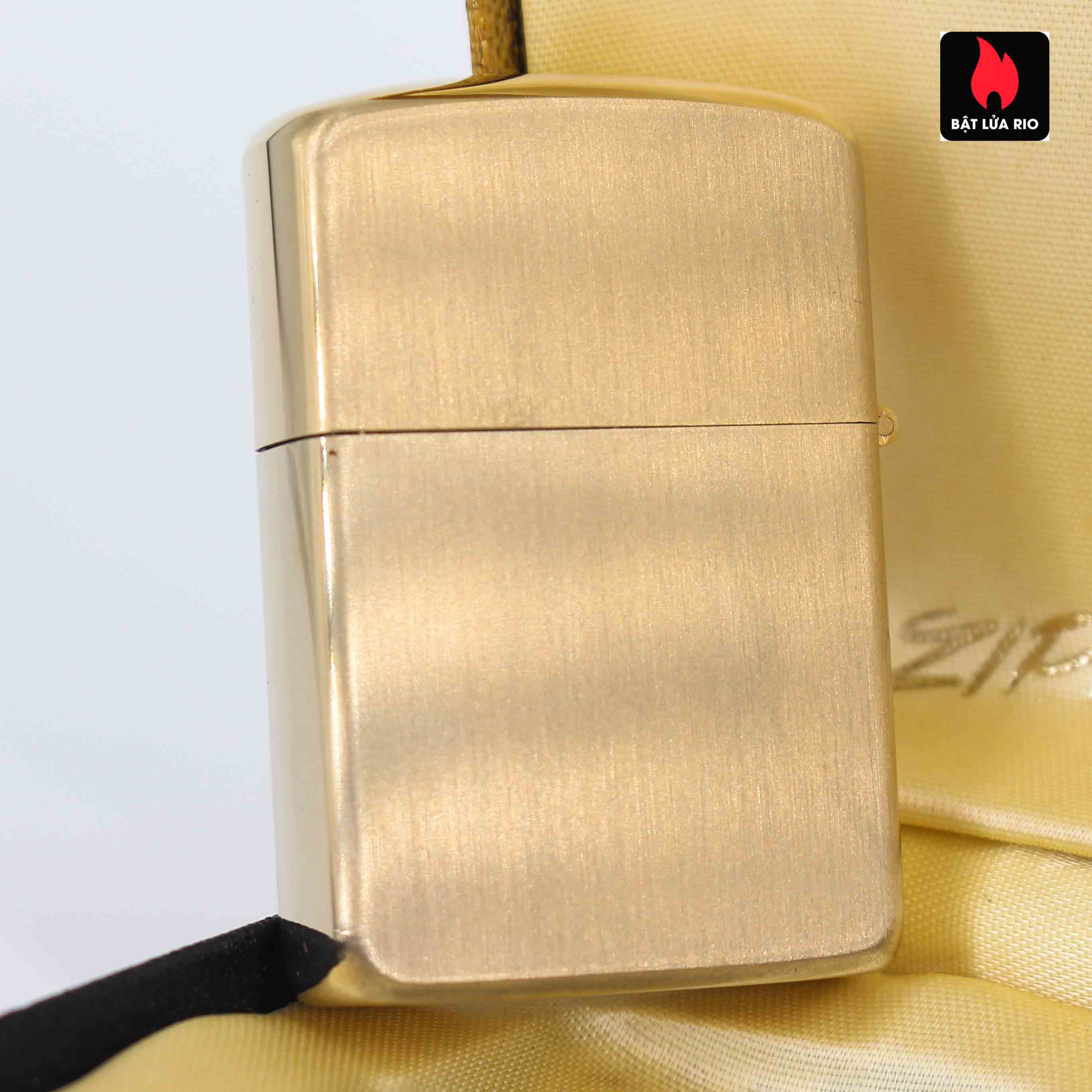 Zippo 1960s – 10K Gold Filled – Bọc Vàng 10K – Best Wishes 1