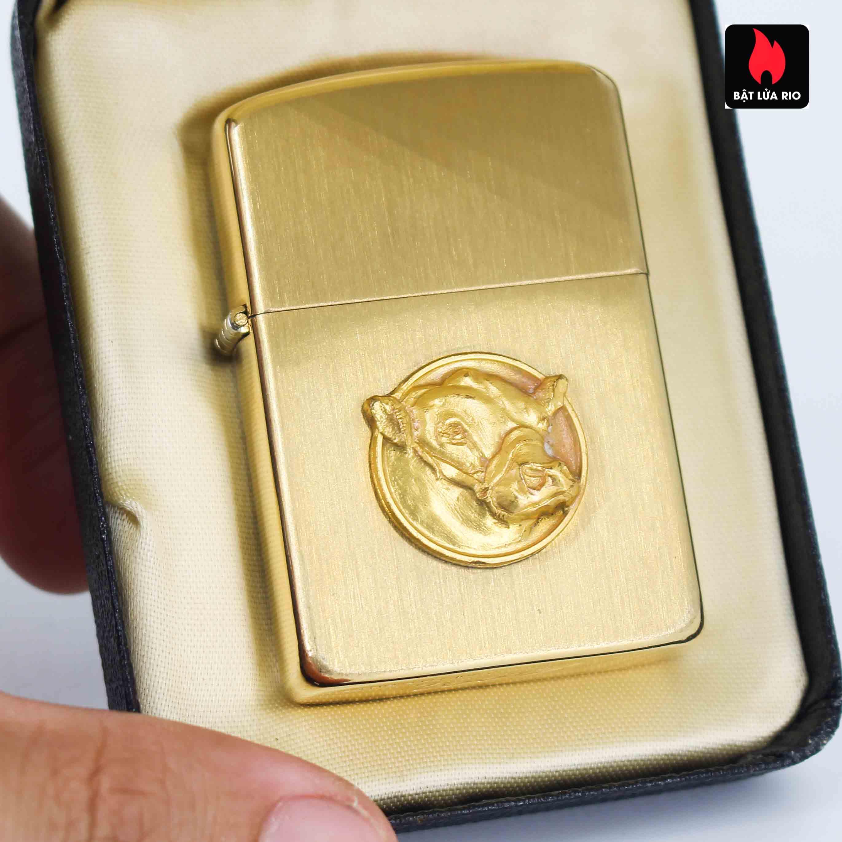 Zippo 1960s - 10K Gold Filled – Bọc Vàng 10K – Black Watch Farm 1