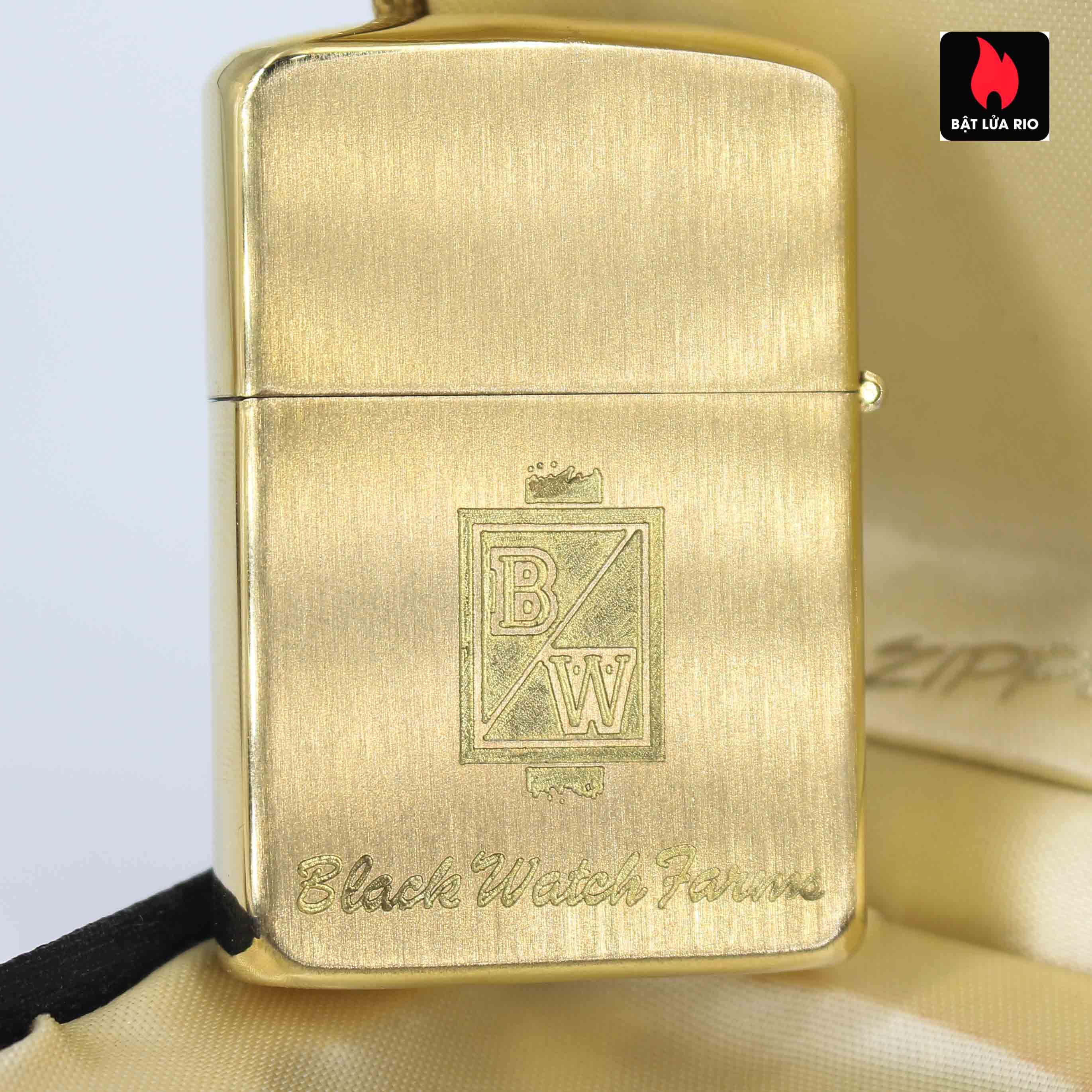 Zippo 1960s - 10K Gold Filled – Bọc Vàng 10K – Black Watch Farm 11