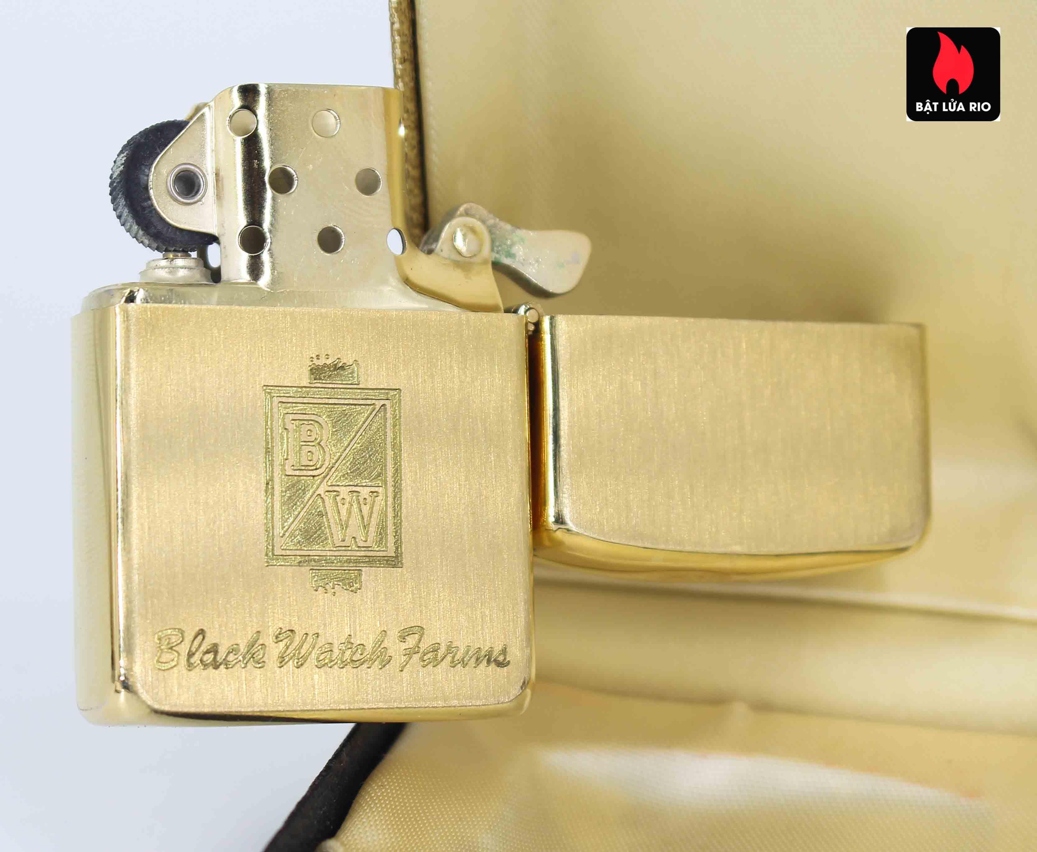 Zippo 1960s - 10K Gold Filled – Bọc Vàng 10K – Black Watch Farm 13