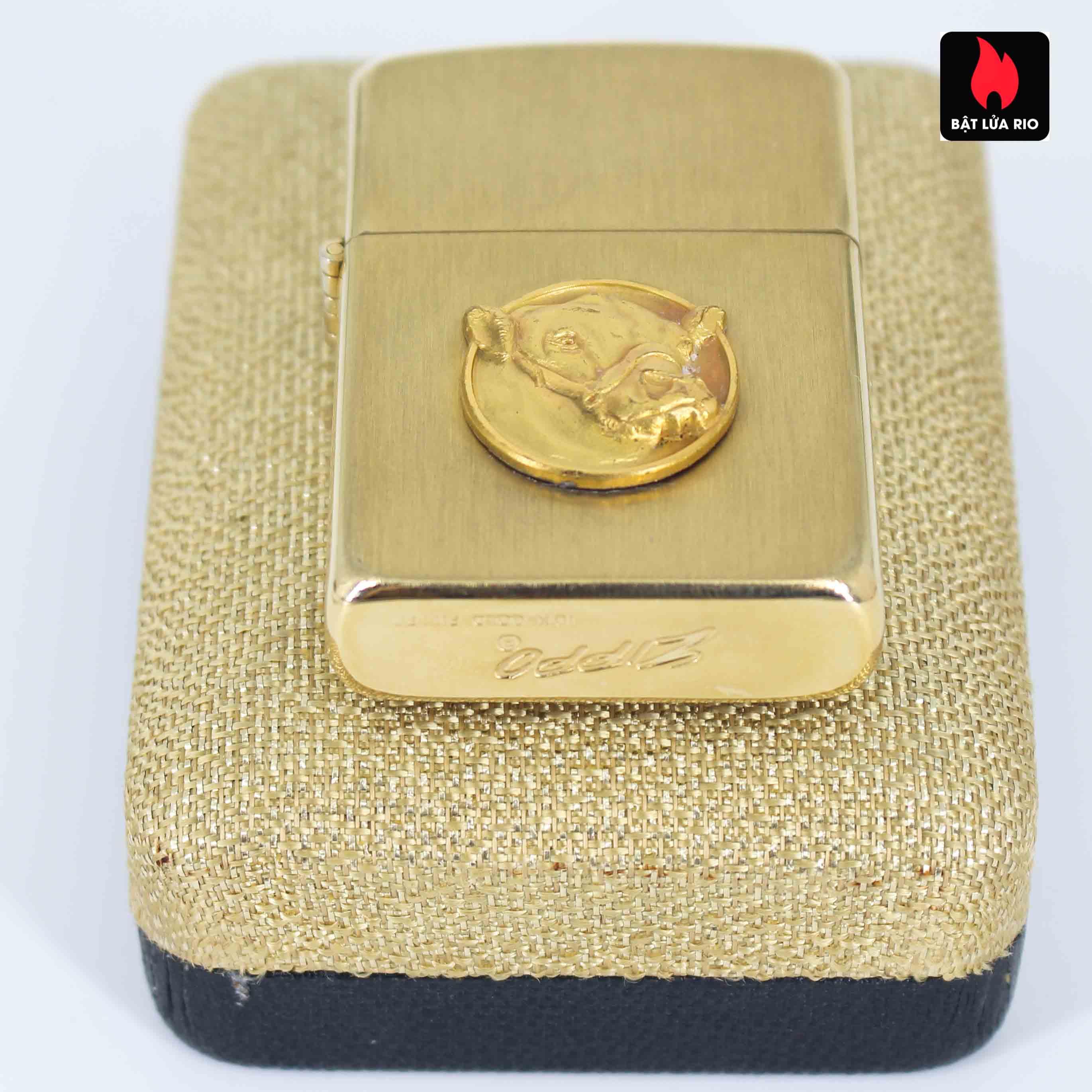 Zippo 1960s - 10K Gold Filled – Bọc Vàng 10K – Black Watch Farm 3