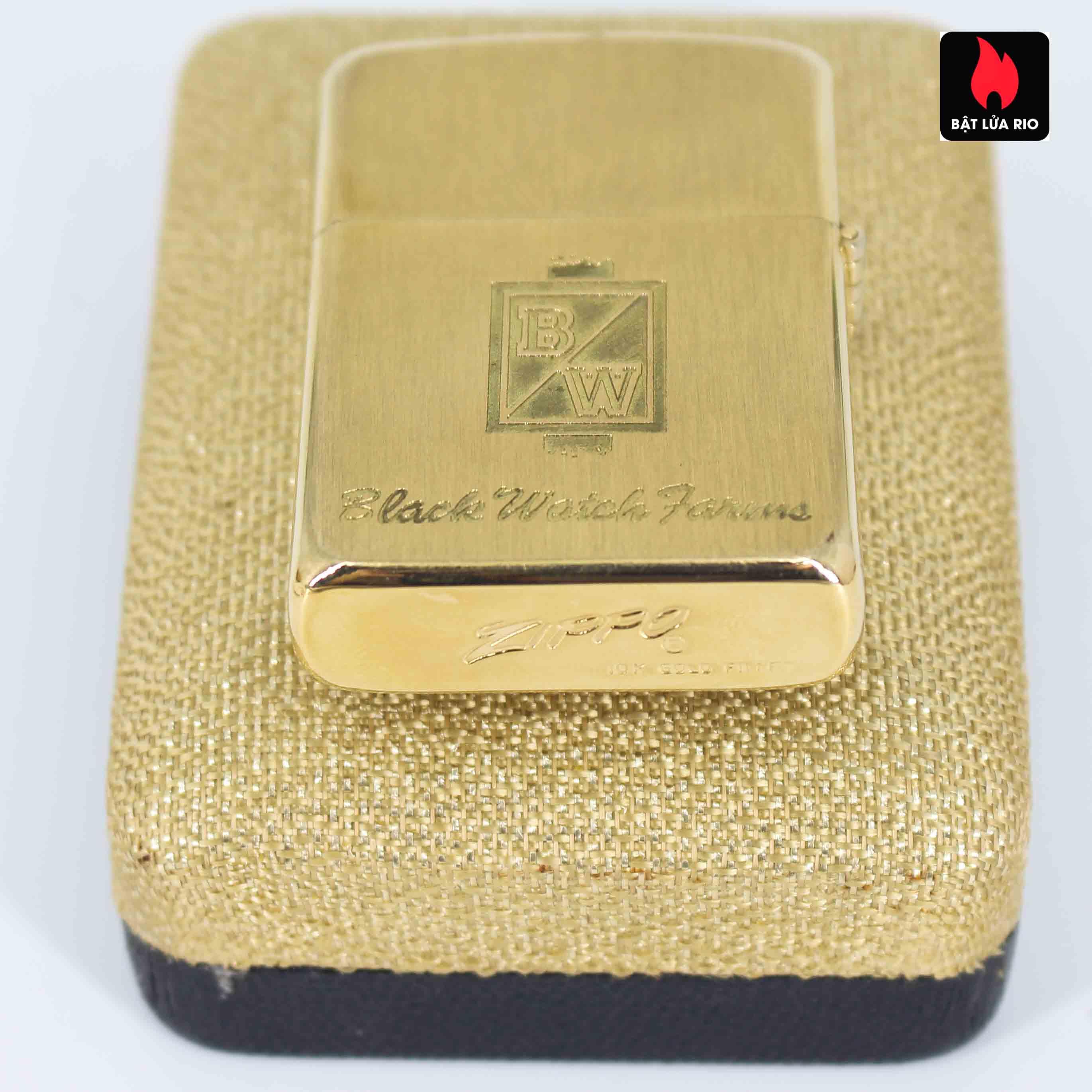 Zippo 1960s - 10K Gold Filled – Bọc Vàng 10K – Black Watch Farm 4