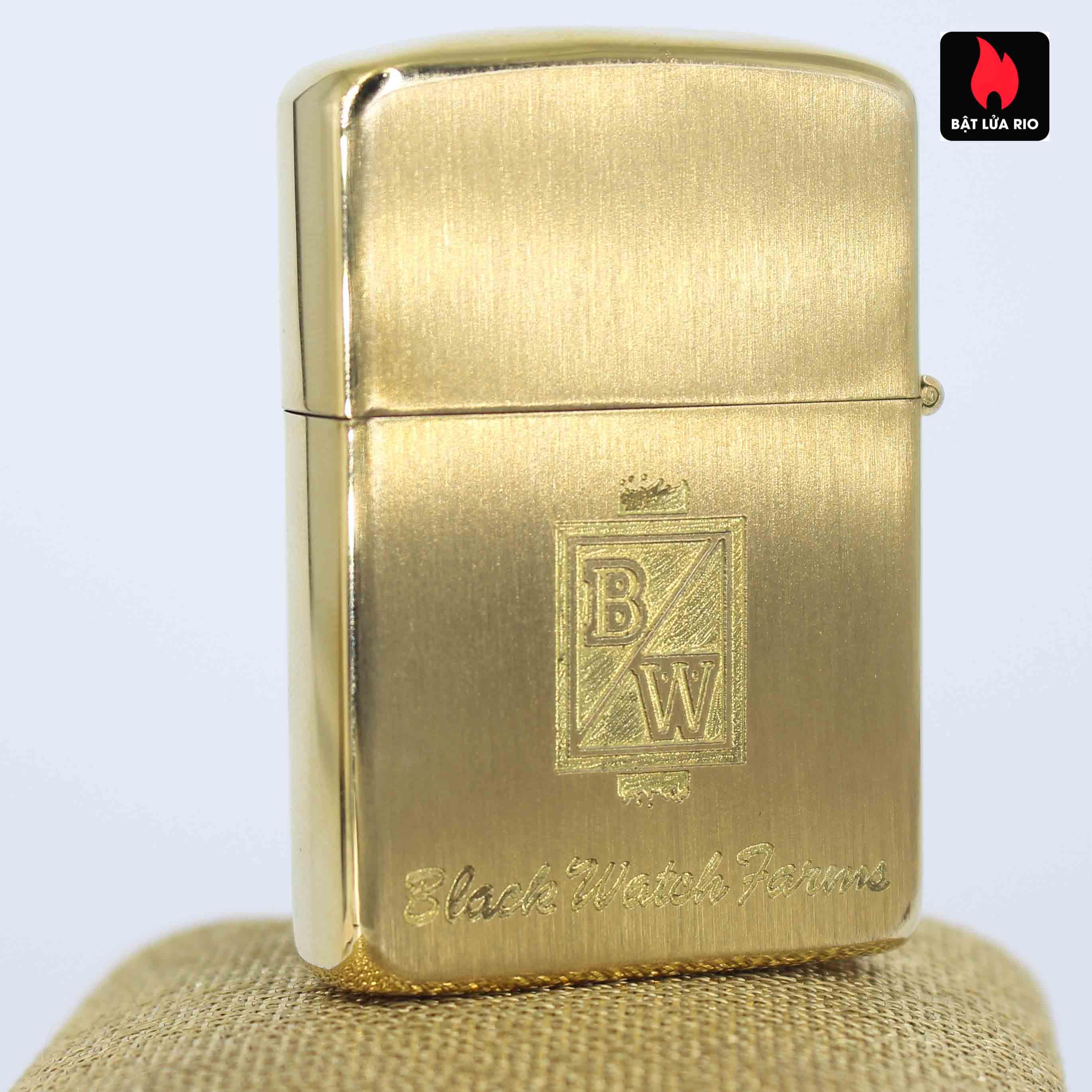 Zippo 1960s - 10K Gold Filled – Bọc Vàng 10K – Black Watch Farm 5