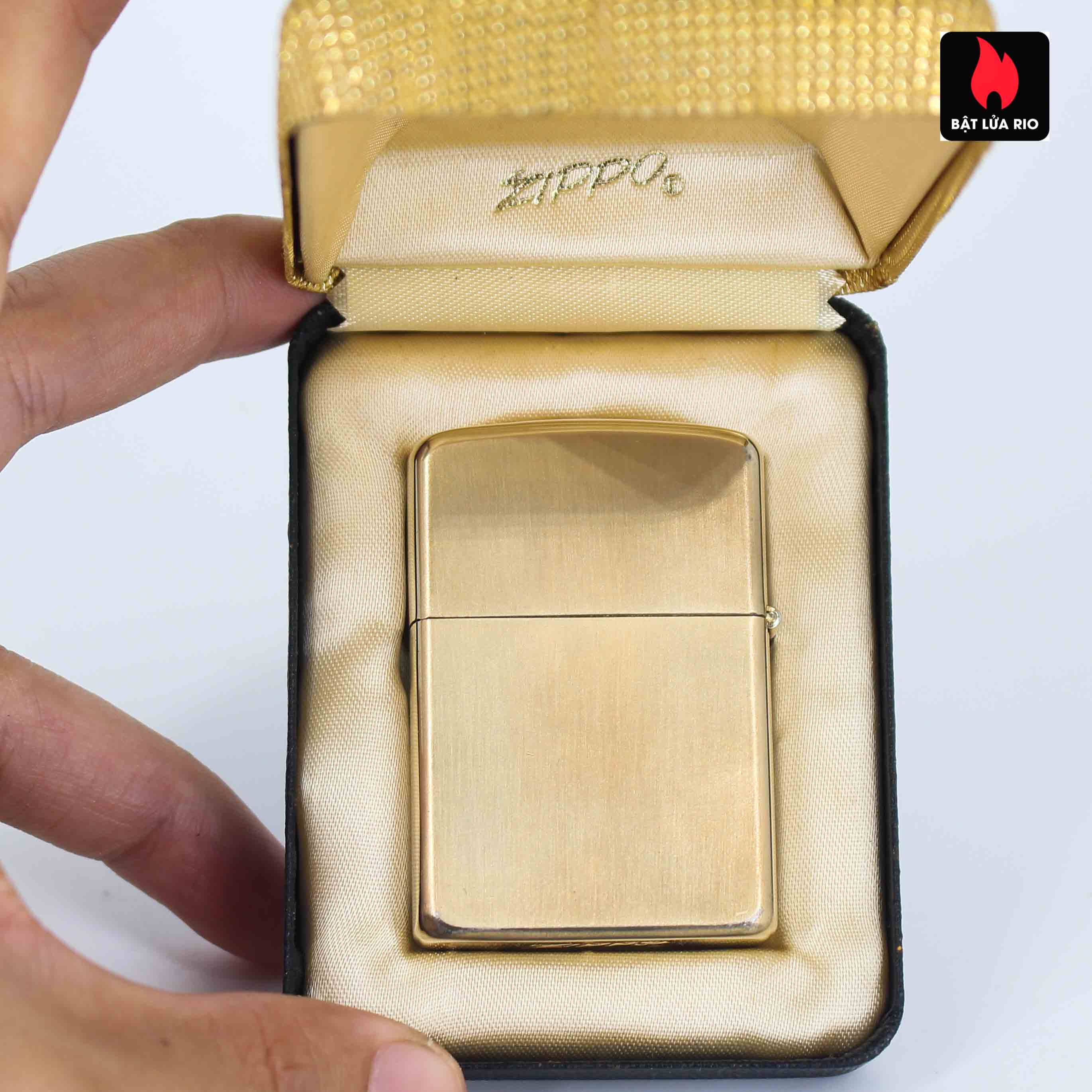 Zippo 1960s - 10K Gold Filled - Bọc Vàng 10K - Chữ Ký 2