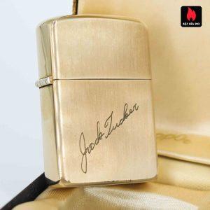 Zippo 1960s - 10K Gold Filled - Bọc Vàng 10K - Chữ Ký