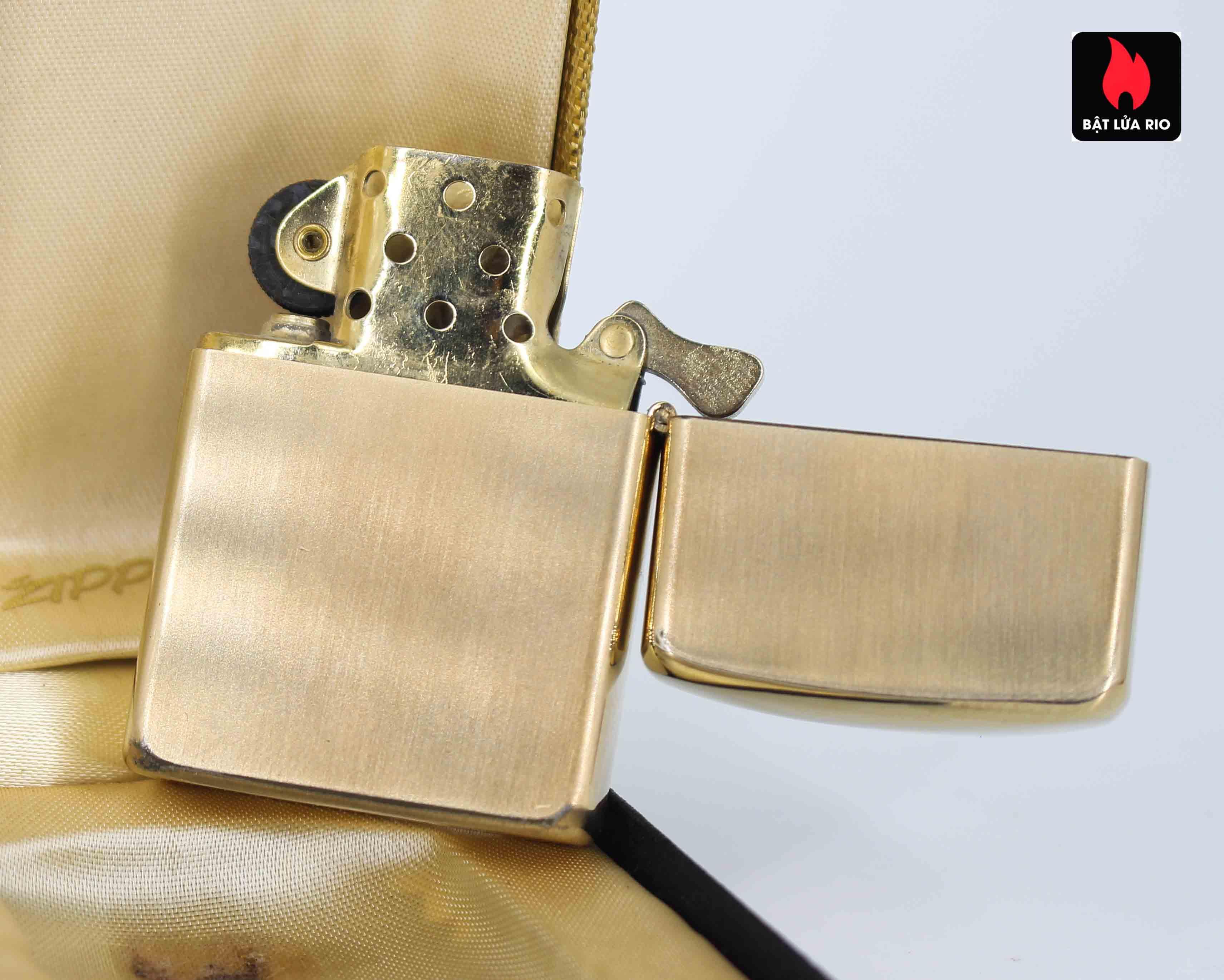 Zippo 1960s - 10K Gold Filled - Bọc Vàng 10K - Chữ Ký 4