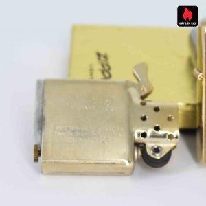 Zippo 1960s – 10K Gold Filled – Bọc Vàng 10K – Hoa Văn Sang Trọng 12